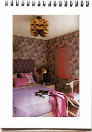 interiors big bold kelly wearstler style fuji files bold wallpaper as art source kellywearstler