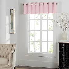 Alton Solid Grommet Window Curtain Panel Newport Grommet Window Curtain Valance Bed Bath U0026 Beyond
