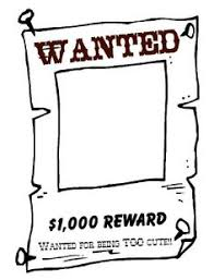 a template wanted poster free for use bulletin boards