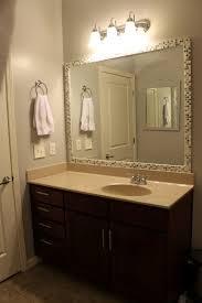 bathroom endearing frameless bathroom mirrors home depot design
