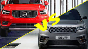 2018 volvo xc40 vs 2018 range rover velar full view youtube
