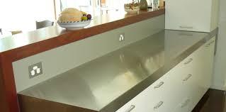 stainless steel kitchens stainless steel kitchen bench donatz info