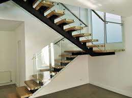 Glass Banisters For Stairs Frameless Glass Balustrades Melbourne Tough N Glass