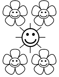 free flower coloring page flower coloring pages of