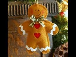 easily make felt christmas ornaments youtube