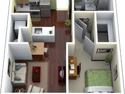 Garage Apartment Plans One Story Bedroom 55 Top One Story Garage Apartment Floor Plans And