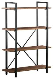 Sauder 4 Shelf Bookcase Bookcase Sauder 4 Shelf Bookcase White Industrial Style Bookcase