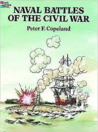 naval battles civil war coloring book peter copeland