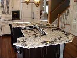 kitchen appealing colonial cream granite countertop chandelier