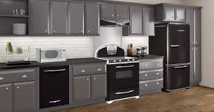 what color cabinets go with black appliances northstar appliances elmira stove works