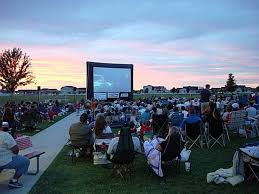 outdoor movies u2013 the party never stops