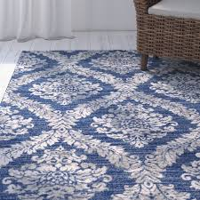Blue Grey Area Rugs Mistana Hillsby Blue Gray Area Rug Reviews Wayfair