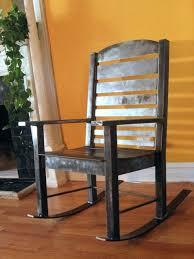 Metal Patio Rocking Chairs Outdoor Metal Rocking Chairs Custom Metal Rocking Chair Old Metal