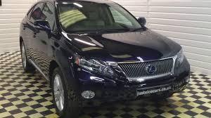 lexus extended warranty uk 2010 10 lexus rx450h 3 5 v6 se l premier cvt hybrid automatic