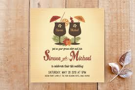 hawaiian themed wedding invitations tiki luau wedding invitations by designkandy minted