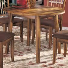 ashley furniture berringer hickory stained hardwood round drop