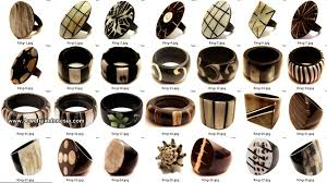 jewelry wooden rings images Fashion jewelry rings from bali indonesia jpg