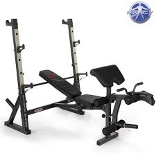 olympic style weight bench marcy diamond elite olympic bench with squat rack heavy duty