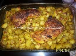 cuisiner cuisse de poulet au four cuisses de poulet et pomme de terre au four recipe cuisine