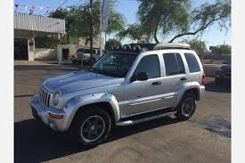 2003 blue jeep liberty used jeep liberty for sale in mesa az edmunds