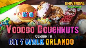 Citywalk Orlando Map A Look At Voodoo Doughnut At Orlando Citywalk Universal Studios