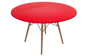 replica charles eames dining table red 120cm for 249 00 5 off