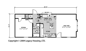 1 bedroom house floor plans 1 bedroom mobile homes floor plans photos and