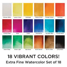 Shades Of Red Color Chart by Marie U0027s Watercolor And Gouache Sets Student Grade Painting Sets