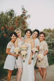 how to do mismatched bridesmaid dresses a practical wedding a