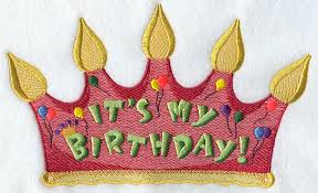 birthday hat machine embroidery designs at embroidery library embroidery library