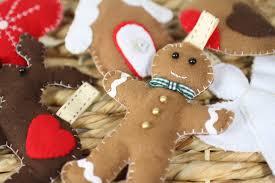 felt christmas diy felt christmas decorations decorations