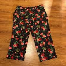 larry levine larry levine stretch capri pants from sizes to