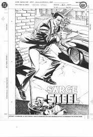 favorite illustrations charlton comics sarge steel