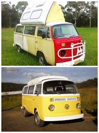 kombi volkswagen for sale vw dormobile kombi camper van rudolph before and after