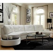 curved sectional sofas modern style curved sectional sofa with built in wooden top