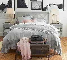 Duvet Covers Gray Best 25 Ruffle Duvet Ideas On Pinterest Cheap Duvet Covers