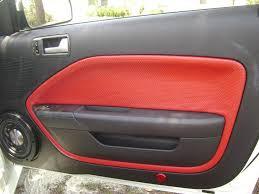 mustang door panel door panel leather wrinkled svtperformance com