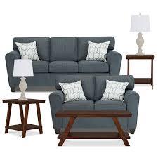 Dark Blue Loveseat City Furniture Zoey Dk Blue Microfiber Loveseat