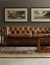 Living Room Ideas With Leather Sofa by Brown Leather Sofa Chesterfield Living Room Coffee Table Chest