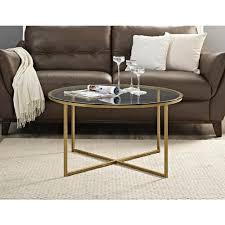 walker edison coffee table walker edison furniture company in glass gold coffee cosmopolitan