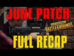 pubg patch notes june patch notes new weapons groza p18c pubg youtube