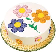 pastel posies cake these softly colored flowers pack plenty of