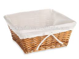 cheap baskets for gifts top wholesale wicker gift basket ba gift basket with lining buy