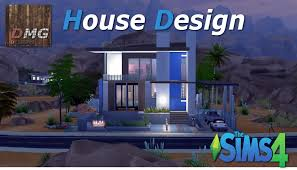the sims 4 house design tour modern sonorana youtube