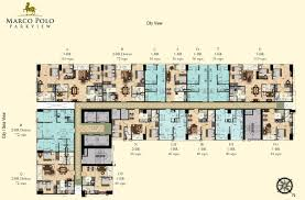 floor plans marco polo residences