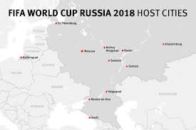 european russia map cities map of the fifa world cup russia 2018 host cities human rights