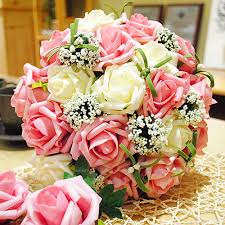 online get cheap bridal flowers online aliexpress com alibaba group