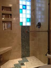 Frosted Glass For Bathroom 5 U0027 X 8 U0027 Luxury Bathroom Remodeling Frosted U0026 Colored Glass Block