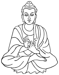 Mandalas And Symbols To Colour The Buddha Center Buddhist Coloring Pages