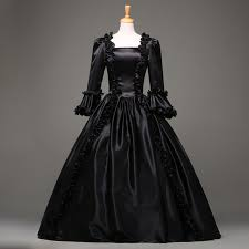 sale 18th century gothic vintage prom ball gown theatre